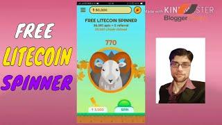 Free Litecoin Spinner | Earn Litecoin for Free