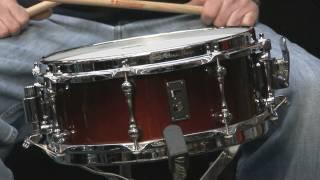 "Gambar cover Mapex Black Panther ""Phantom"" 5x12 Birch / Walnut Snare Drum"