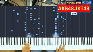 AKB0048 Insert Song (Piano) Shonichi / JKT48 * AKB48 * Cover *
