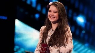 Lauren Thalia Turn My Swag On - Britain's Got Talent 2012 audition - UK version