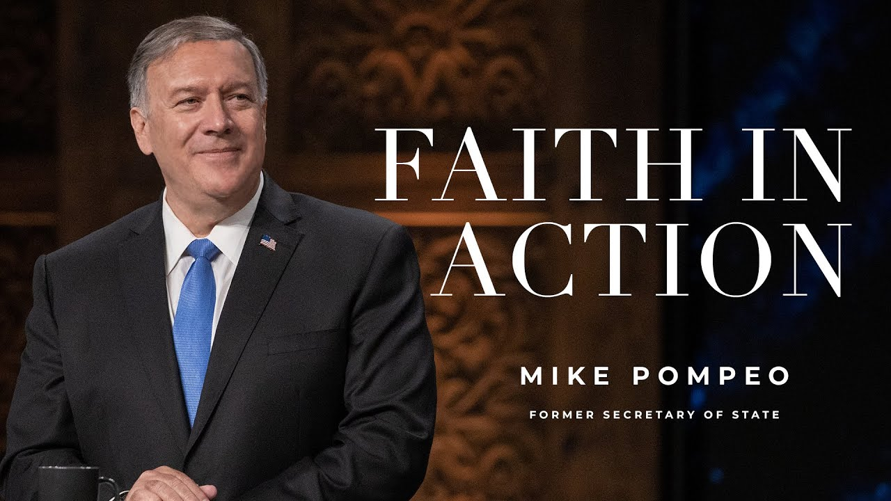 Download Faith In Action with Former Secretary of State, Mike Pompeo