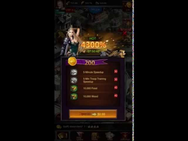 Clash of Kings - Tavern - spinning wheel - advance teleport - English