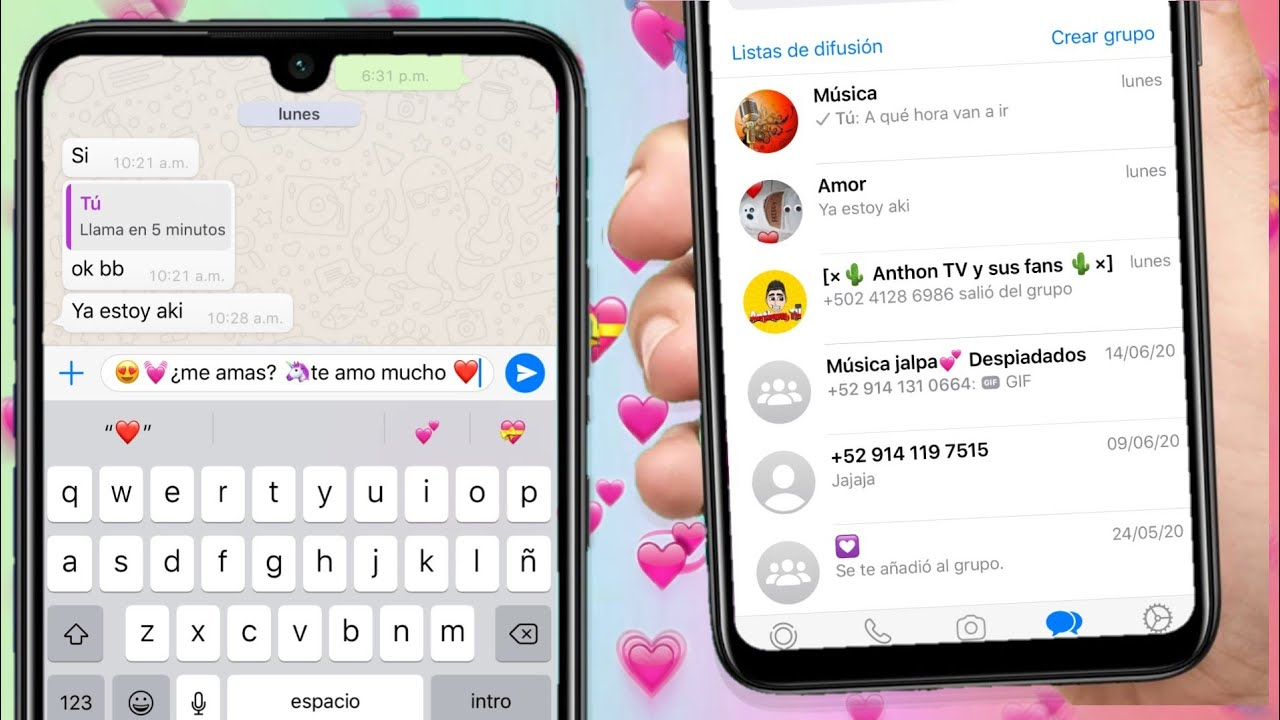 Whatsapp Estilo IPhone En Android 2021 🌈 - YouTube