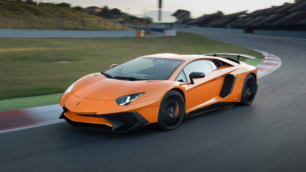 2016 Lamborghini Aventador Lp750 4 Sv Orange Youtube
