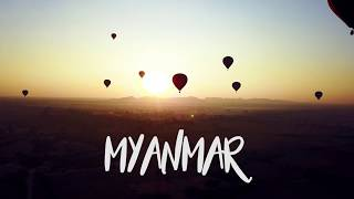 Secrets of MYANMAR | 4K DRONE footages
