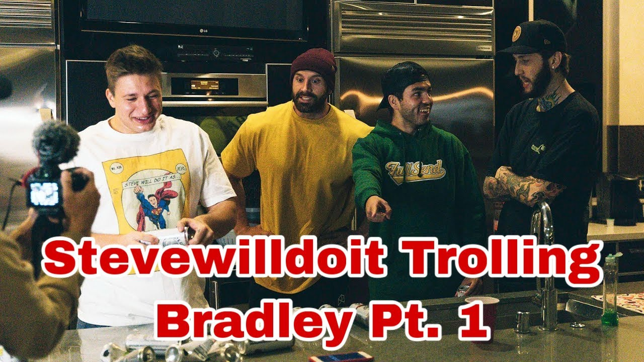 Stevewilldoit Trolling Bradley Martyn W Nelk Boys And Faze Banks 2020 Part 1 Cannabisworld411 Com Nelk boys and steve will do it get their necks cracked. cannabisworld411 com