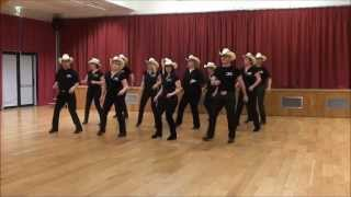 SMILING SONG Line Dance (Dance & Teach in French)