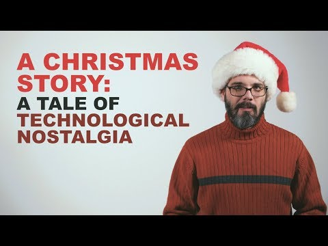 A Christmas Story: A Tale Of Technological Nostalgia