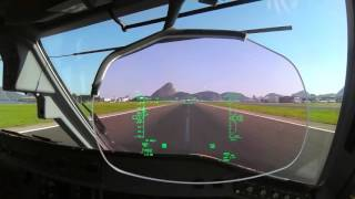 Santos Dumont Take Off (HUD View)