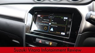 Suzuki Vitara Infotainment Review