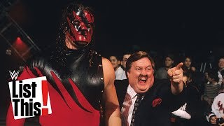 5 people you won't believe Kane Tombstoned: WWE List This!