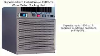 Cellarpro® 4200vsi Wine Cellar Cooling Unit Review