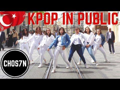 [KPOP IN PUBLIC TURKEY/ISTANBUL] BTS (방탄소년단) - BOY WITH LUV (작은 것들을 위한 시)  Cover by CHOS7N