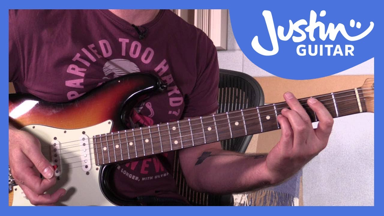 How to play Hit Me With Your Best Shot   Pat Benatar   Guitar Lesson  Tutorial BS 15