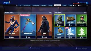 Fortnite Live | item shop countdown