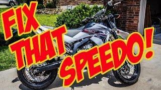 How to Fix Motorcycle Speedometer - SpeedoDRD