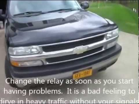 GM Turn Signal Problem Fix - Directional Relay Replacement - YouTube