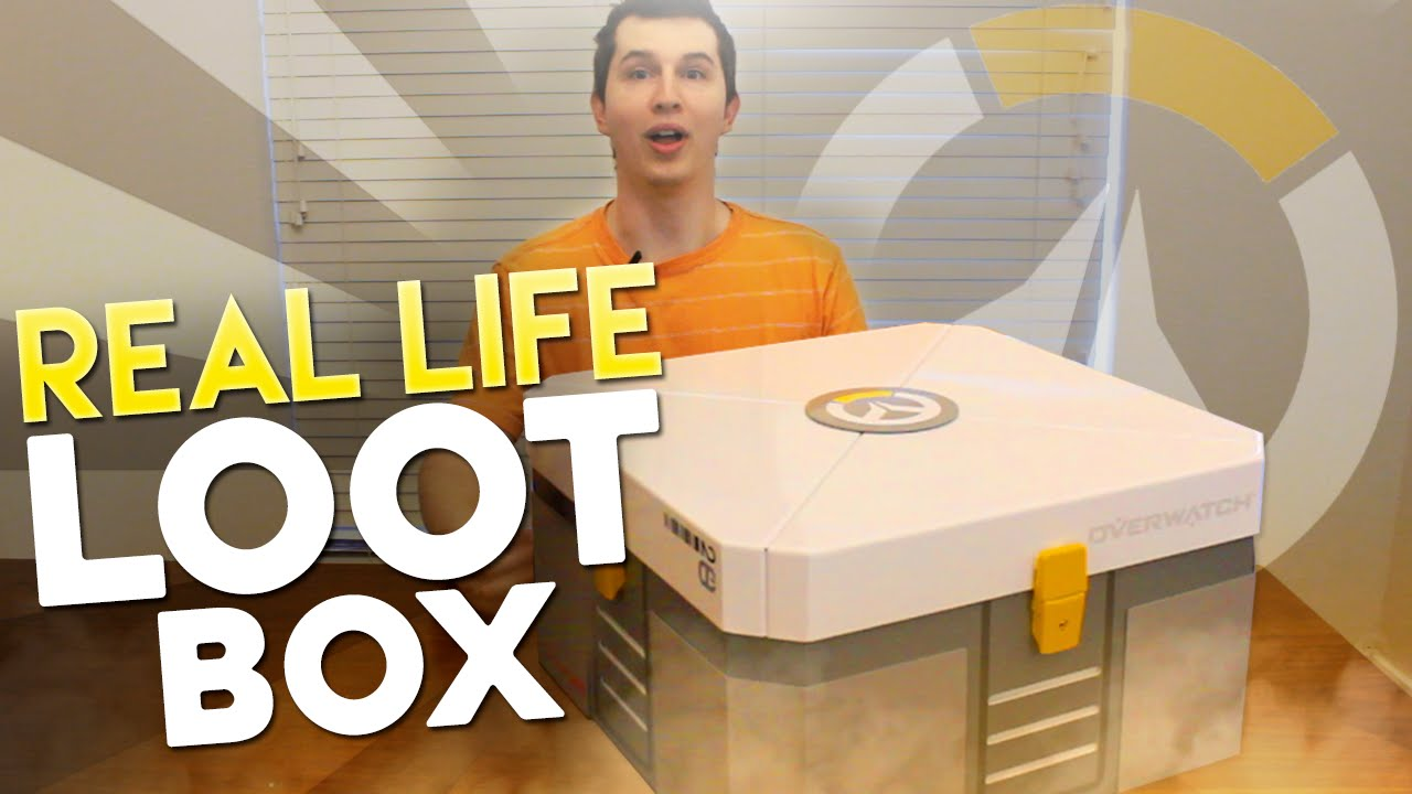 Real Life Overwatch Loot Box Opening