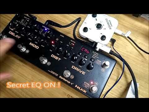 NUX Cerberus secret EQ option