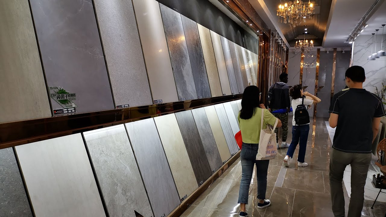 most popular tiles market in china foshan ceramic tiles exhibition center