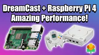 Raspberry Pi 4 Dreamcast Test WOW! 11 Games Tested LAKKA