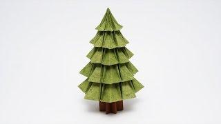 ORIGAMI CHRISTMAS TREE v2 (Jo Nakashima)