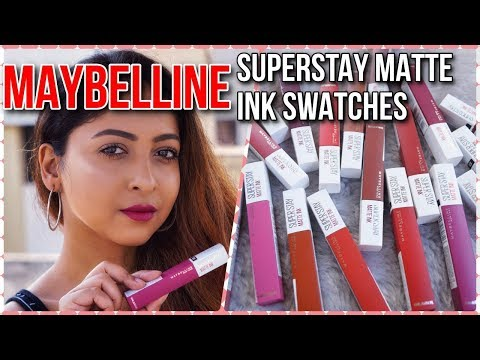 maybelline-superstay-matte-ink-liquid-lipstick-|-review,-swatches-&-16hr-wear-test-|-stacey-castanha