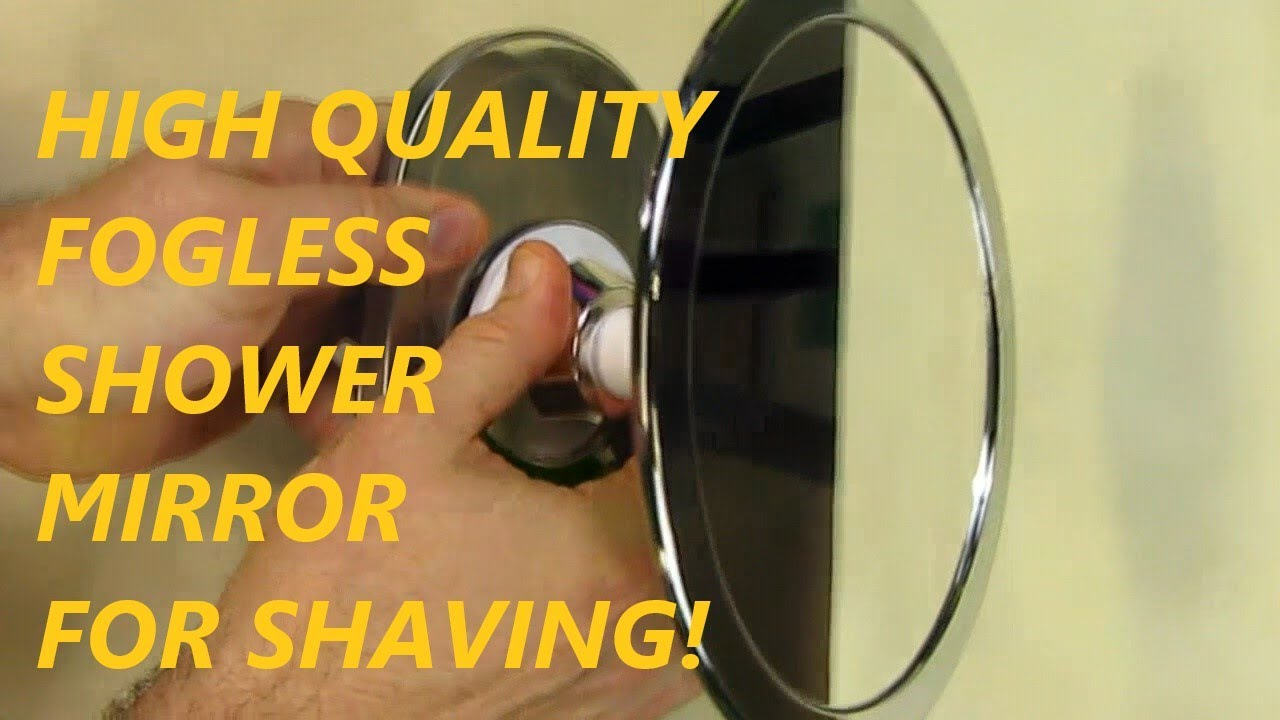 Charmax Fogless Shower Mirror, No Fog Shaving Mirror (5 Star Rated)