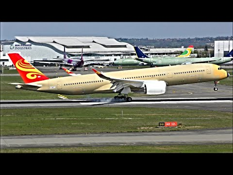 AMAZING SPOTTING at Toulouse Blagnac, Airbus Factory - 05/04/19