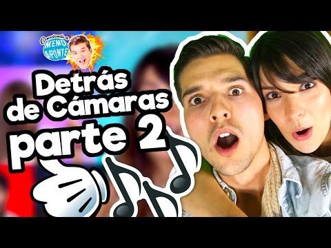 Detrás de cámaras Princesas Disney a Capella - Parte 2/ feat. Carmen Sarahi/ Memo Aponte