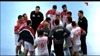 ハンドボール アジア選手権 日本vsシリア 後半