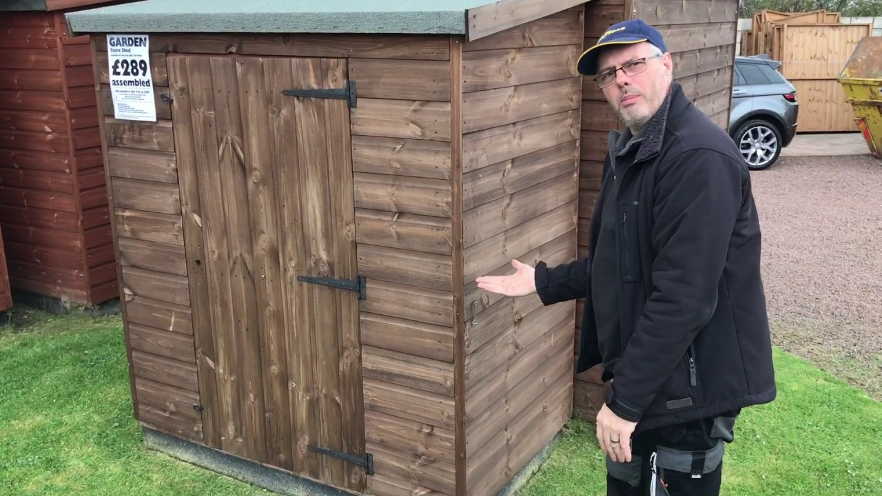How To Fix A Sagging Door >> How to fix a shed with a sagging door in 2 minutes. - YouTube