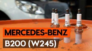 Поддръжка на Mercedes W245 - видео инструкция