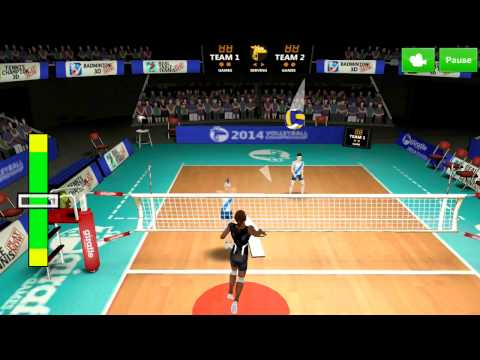 Volleyball Champions 3D 2014 Android Gameplay