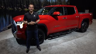 Is the NEW 2022 Toyota Tundra Limited a BETTER truck than a RAM 1500?