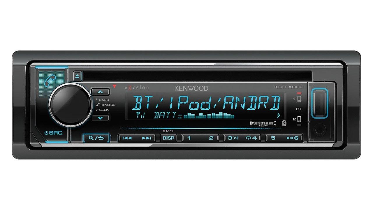 Kenwood Excelon Kdc X300 Wiring Diagram Guide And Troubleshooting Sirius Satellite Radio X302 Youtube Rh Com Model Diagramx493 Car Audio