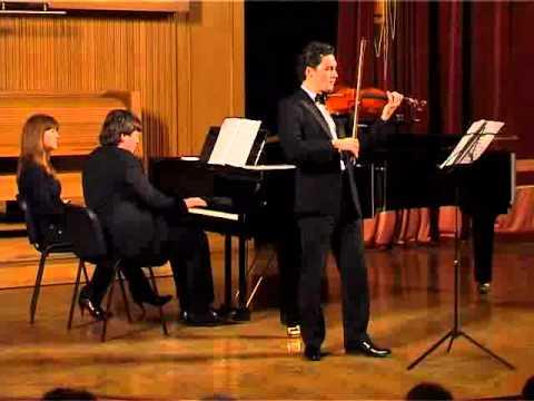 Bach-fest'10 Sonata E-dur BWV 1016 Poliansky & Schumann