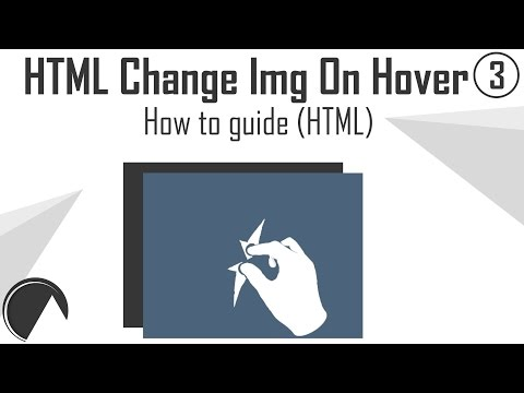 How To Change HTML Image On Hover (Responsive Web Design Tutorial)