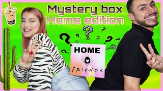 Ανοίγουμε Mystery Box Home Edition (firebox) feat. Aphrodite 's |Tsede The Real