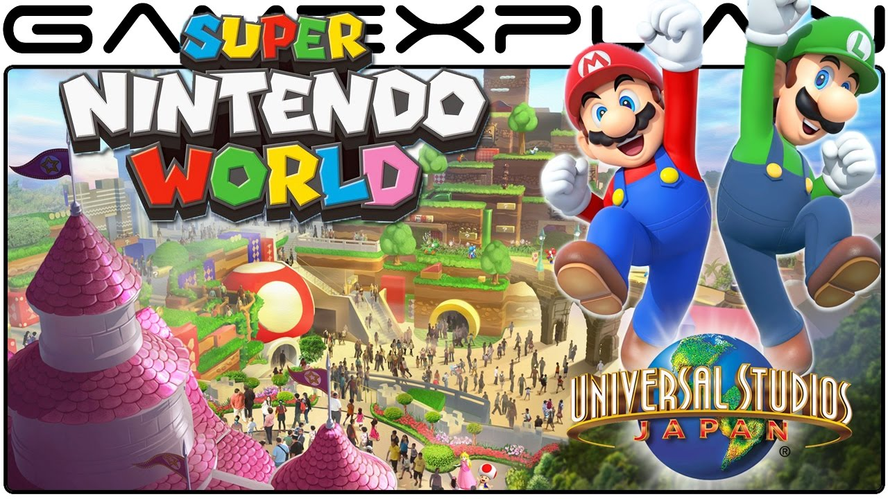 Super nintendo world announced for universal studios with artwork super nintendo world announced for universal studios with artwork youtube publicscrutiny Choice Image