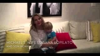 Message of Luisana Lopilato & Noah to Michael Buble