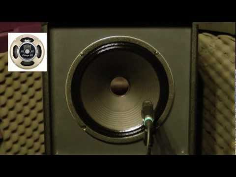 Celestion Vintage 30 - Clean Sound