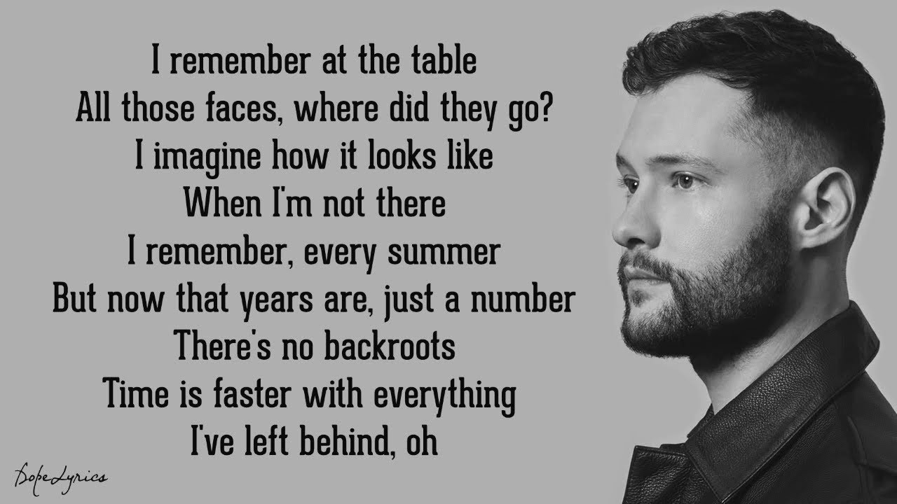 Calum Scott - What I Miss Most (Lyrics) #1