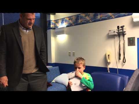 Glenn Jacobs tours East Tennessee Children's Hospital