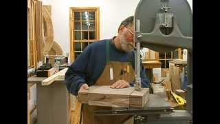 Making A Fireplace Mantle Part 8, Deep Tenons: Andrew Pitts~furnituremaker