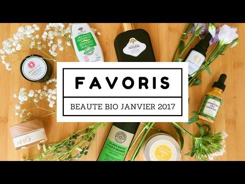 Favoris Beauté Bio | Janvier 2017