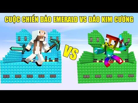 MINI GAME : CUỘC CHIẾN ĐẢO EMERALD VS ĐẢO KIM CƯƠNG ** THỬ THÁCH CHIẾN THẮNG CỪU BẰNG ĐẢO EMERALD