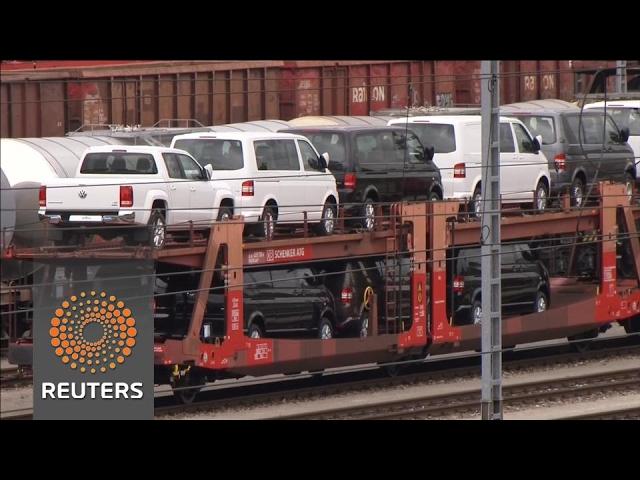 German industry orders post shock fall