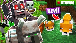 Minecraft The Deep End SMP Stream 22: New Foxes!
