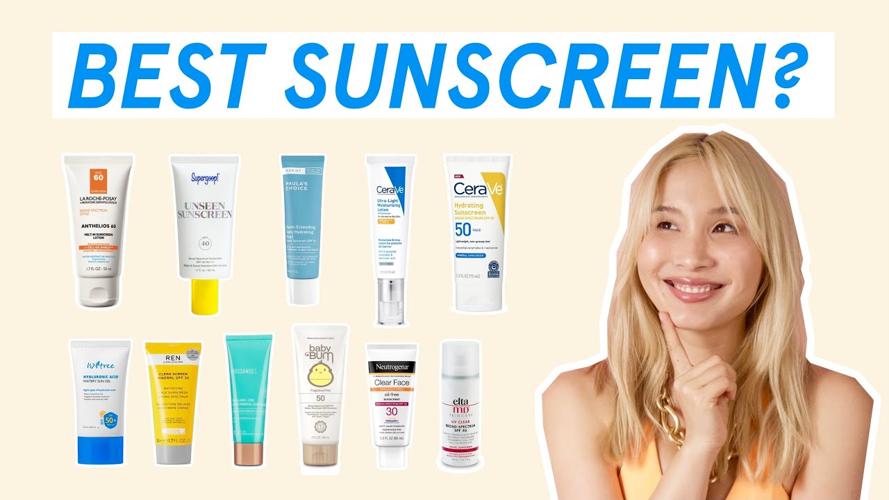 Which sunscreen is best for you? | 🔥 ULTIMATE GUIDE 2021 🔥